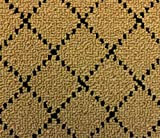 9'x12′ Indoor 26oz Berber Area Rug -Goldstock Black Diamond Pattern Durable Area Rug for Home with Premium BOUND Polyester Edges. Review