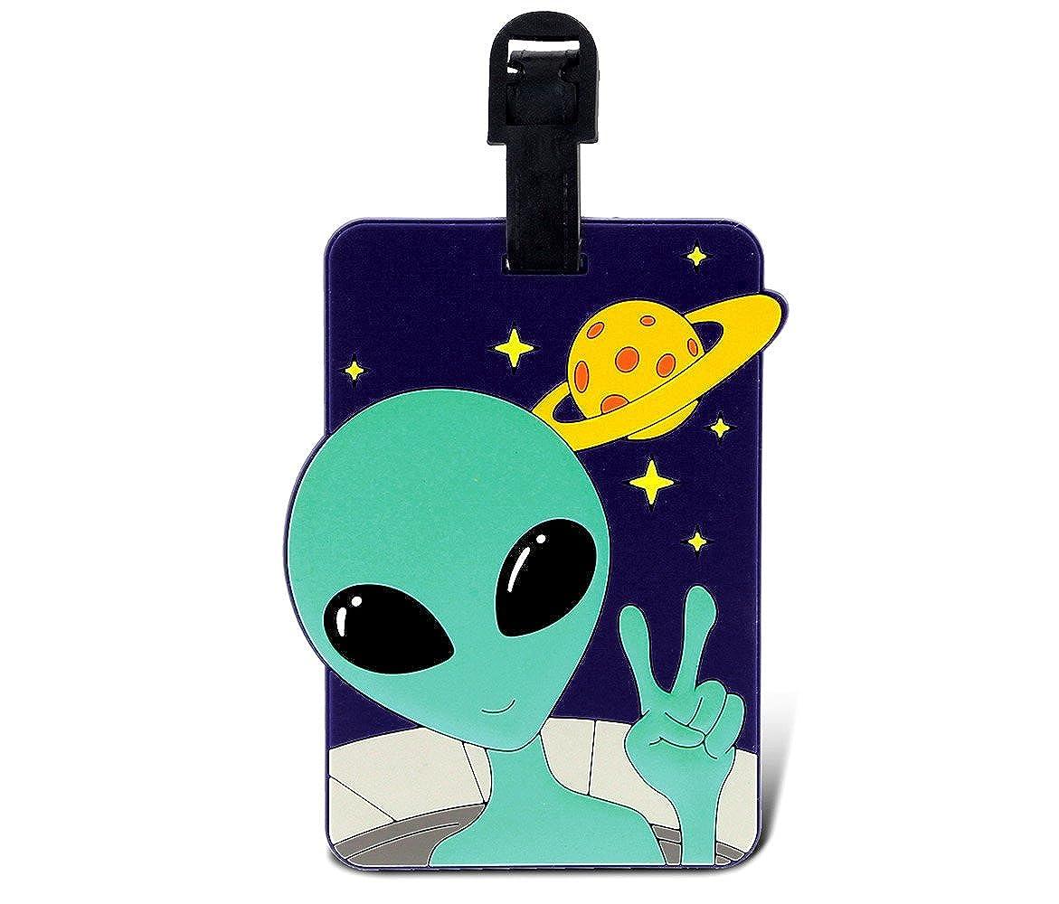 Puzzled taggage 。Alien荷物タグ3.5 X 5インチ   B00SUAEYCW