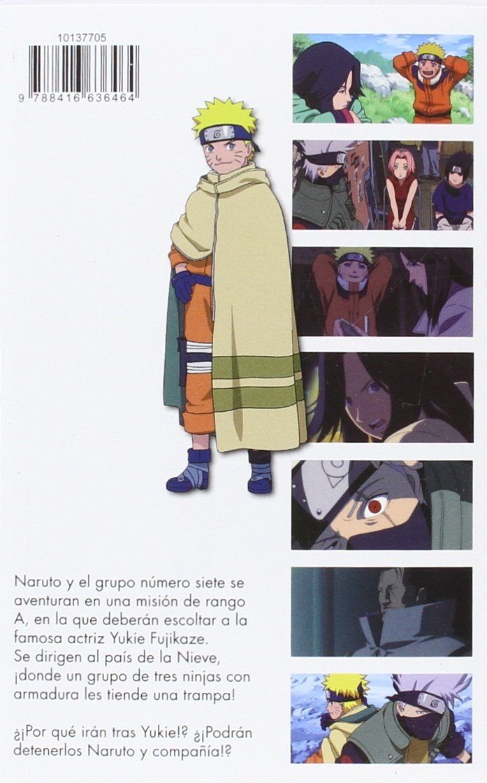 Naruto Anime Comic nº 02 ¡Batalla ninja en la tierra de la ...