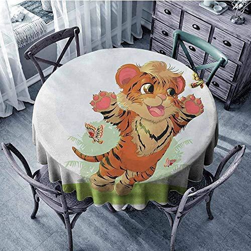 HeKua Cartoon,Round Table Covers D 36