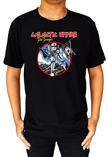 Funny Star Wars Galactic Empire Trooper Iron Maiden Invasion of Rarities T-Shirt