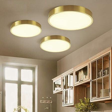 AOKARLIA Plafonnier LED Salle De Bain Moderne Rond Chambre