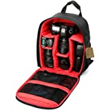 G-raphy Camera Bag Backpack with Rain Cover for Cameras , Lens, Tripod and Accessories