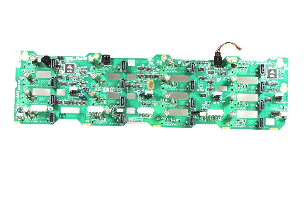 Supermicro SAS836TQ SuperChassis BPN-SAS-836TQ CSE-836TQ-R710B CSE-836TQ-R800V CSE-836TQ-R800B CSE-836TQ-R500B 3U Server Rev 3.2 16-Port SAS SATA Backplane Compatible Part Numbers: SAS836TQ, BPN-SAS-836TQ