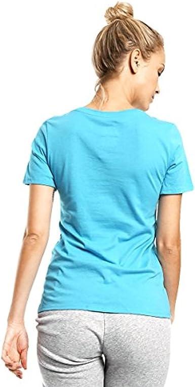 Nike Women's Turquoise Ocean Blue Tee Shirt (T-Shirt ) (694363-418) Size: XS