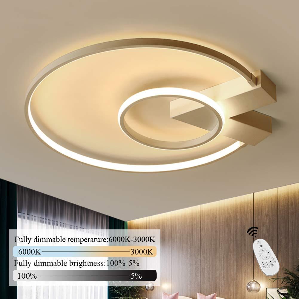 LED Deckenleuchte I CBJKTX Deckenlampe 9cm 9W dimmbar mit
