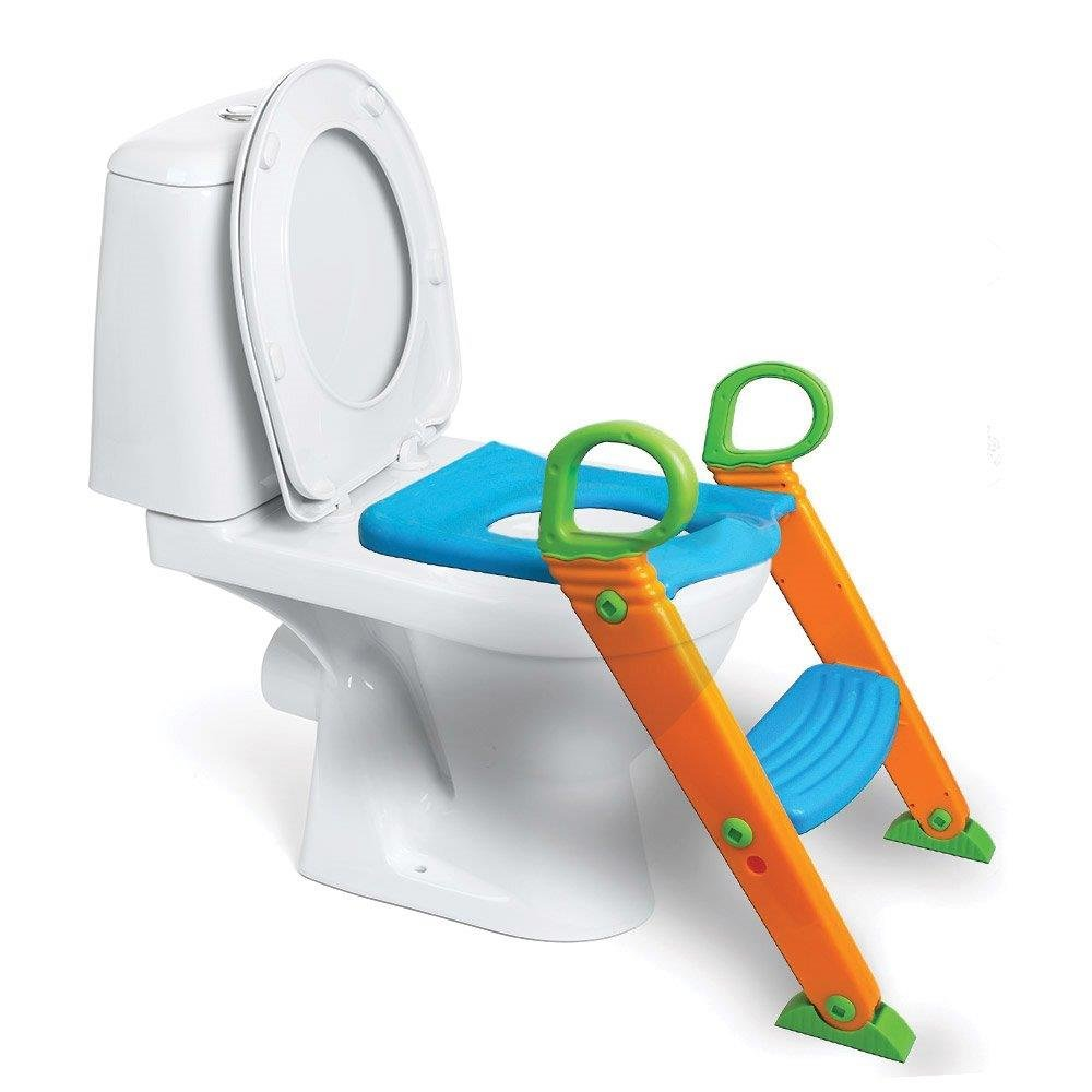 Potty Toilet Seat with Step Stool ladder, (3 in 1) Trainer for Kids ...