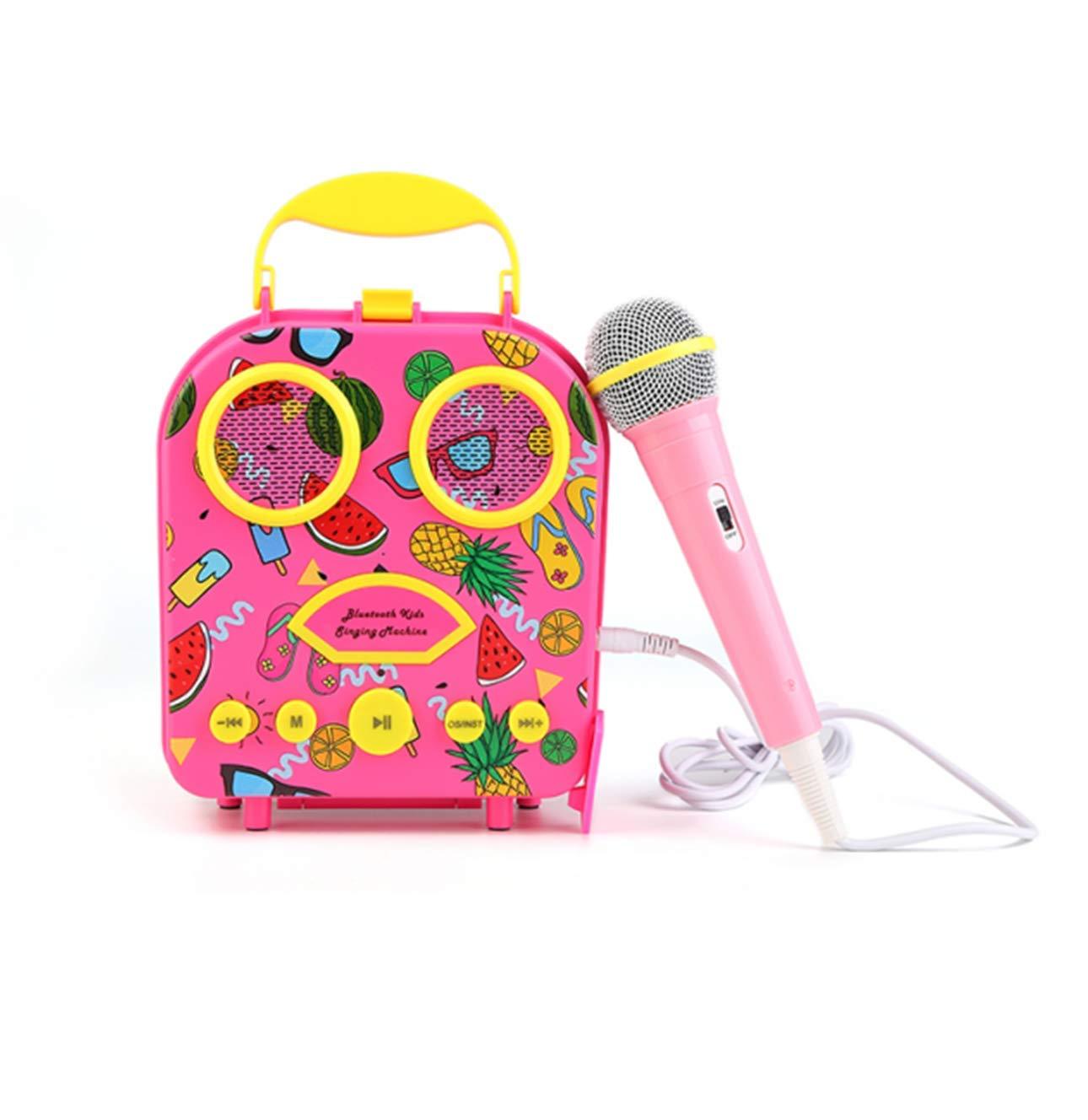 LUCKYBIRD Karaoke Machine for Kids (Hot Pink) by LUCKYBIRD (Image #1)