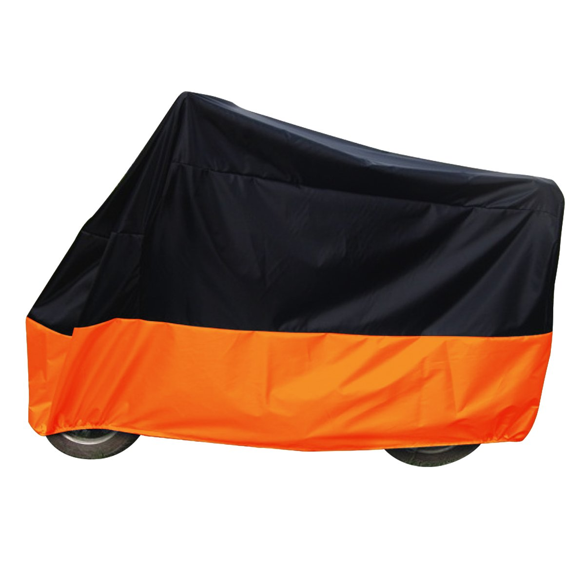 Audew Motorbike Cover, Water-Resistant Dustproof, UV Protective, Breathable Cover for Harley Davidson Sportster 1200 Universal XXL AUDEWeXUYh7bN8