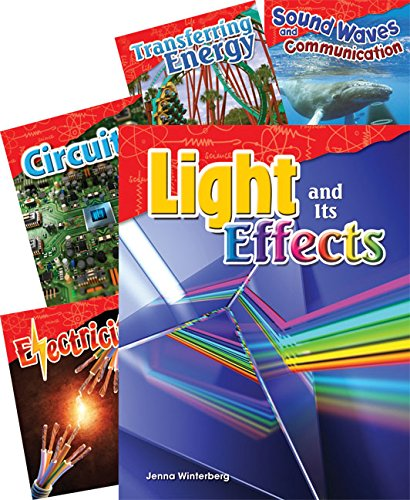 Teacher Created Materials - Science Readers: Content and Literacy: Physical Science - 5 Book Set - Grade 4 - Guided Reading Level P - -