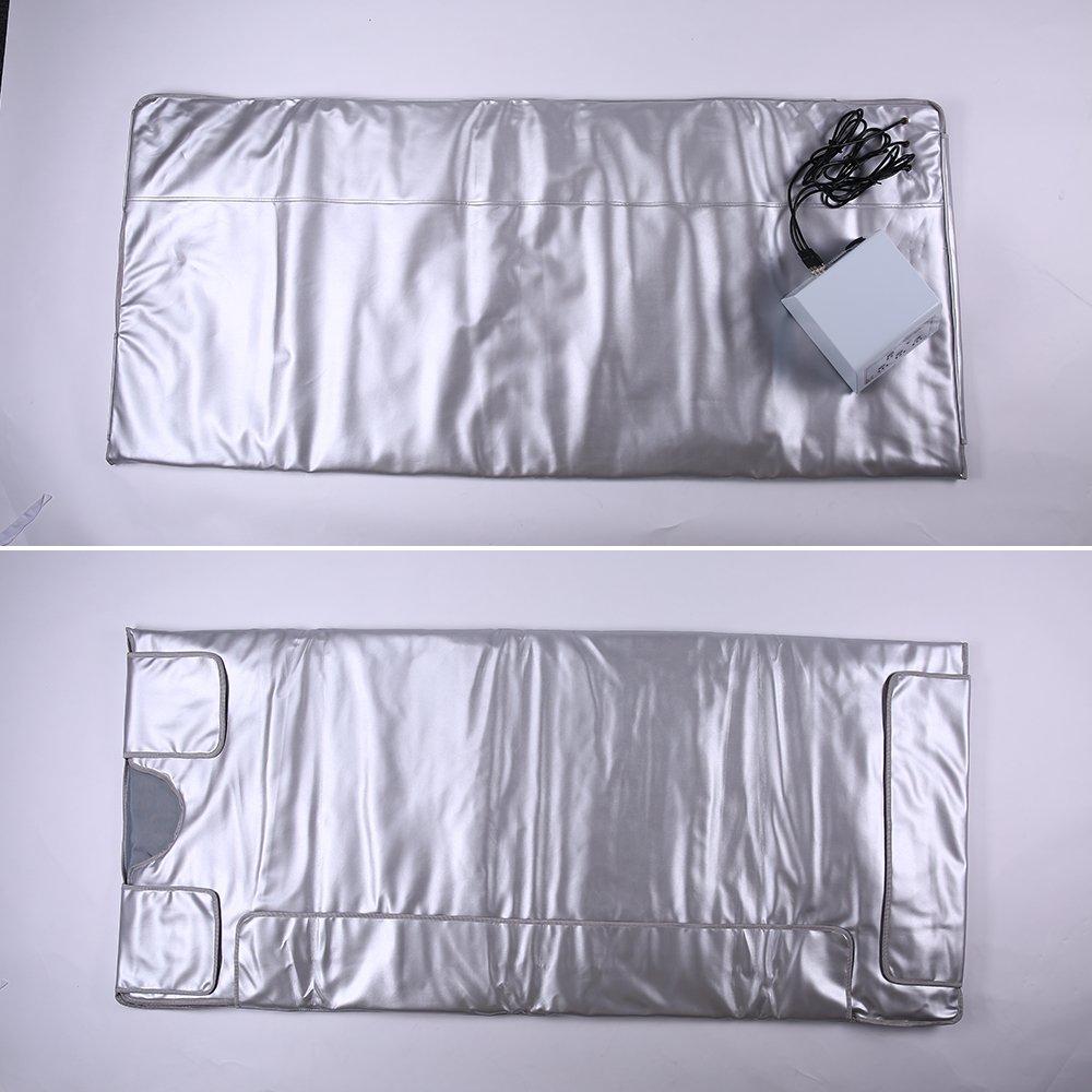 HUKOER Couverture de sauna avec d/égagement de rayons infrarouges distants Mise en forme du corps//D/ésintoxication//Anti-/âge//Plus