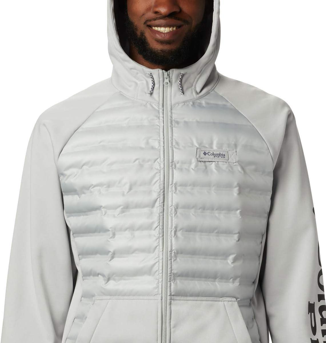 Columbia Men's Terminal Hybrid Hoodie Cool Gray