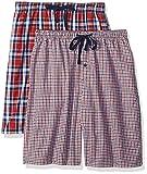 Hanes Men's 2-Pack Woven Pajama Short, Indigo, Medium