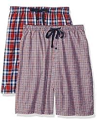 Hanes - Pantalones Cortos de Pijama para Hombre (2 Unidades)