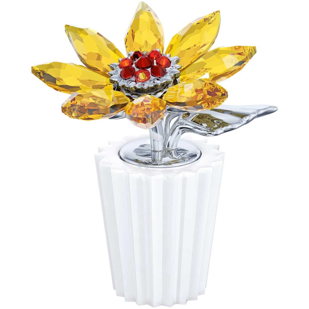 Swarovski Crystal #5045568 Sunflower Figurine