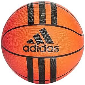adidas 3 Stripes Mini Basket Ball, Unisex Adulto, Orange/Black ...