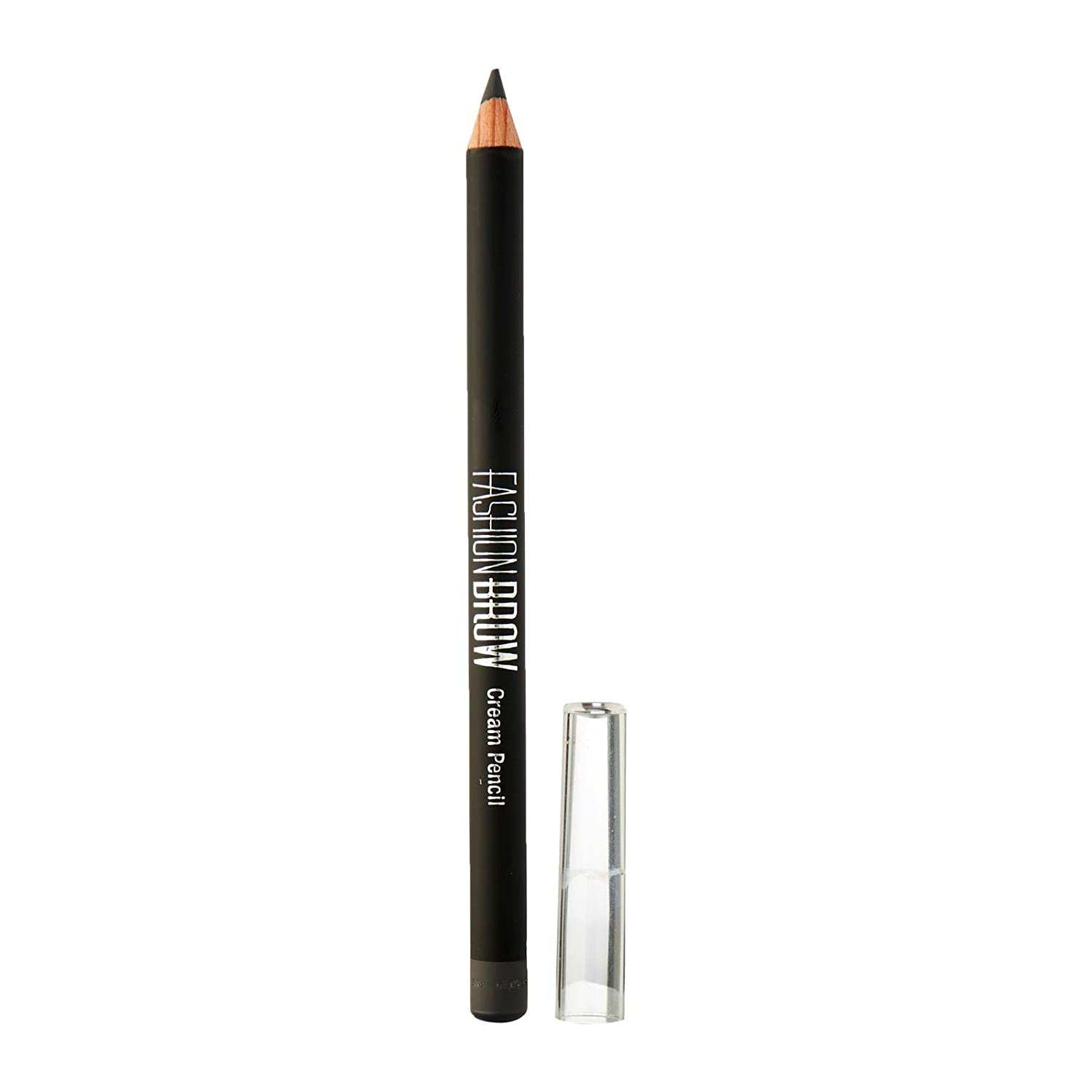 Maybelline New York Fashion Brow Cream Pencil, Gray, 0.78g