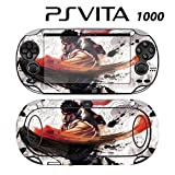 Decorative Video Game Skin Decal Cover Sticker for Sony PlayStation PS Vita (PCH-1000) - Street Fighter X