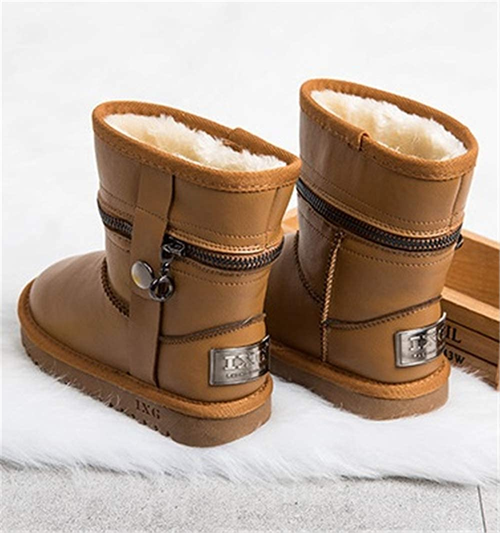 Quality.A Girls Cotton Boots Walking Shoes Casual Shoes Snow Boots