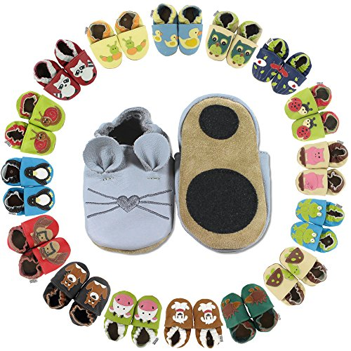 Lauflernschuhe Schokoeis von HOBEA-Germany, Schuhgröße:24/25 (24-30 Monate)