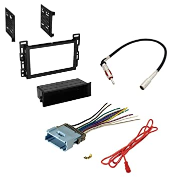 Amazon.com: CHEVROLET 2005 - 2006 EQUINOX CAR STEREO RADIO CD PLAYER RECEIVER INSTALL MOUNTING KIT RADIO ANTENNA: Car Electronics