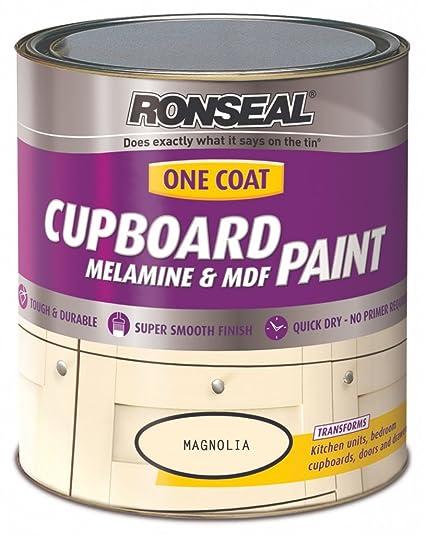 RONSEAL ONE COAT - Pintura para armarios de melamina o MDF, 750 ml ...