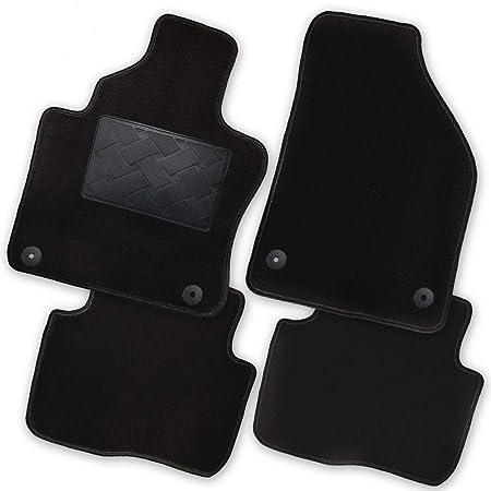 Bär Afc Ni60010 Exklusiv Auto Fußmatten Velours Schwarz Rand Kettelung Schwarz Trittschutz Kunststoff Set 4 Teilig Passgenau Für Modell Siehe Details Auto