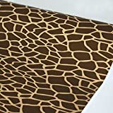 SimpleLife4U Removable Shelf Drawer Liner Personalize Furnitures 17.7 Inch by 13 Feet, Animal Print