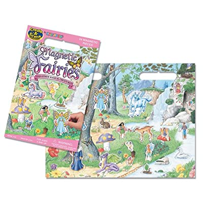 Create-A-Scene Magnetic Playset - Fairies: Toys & Games