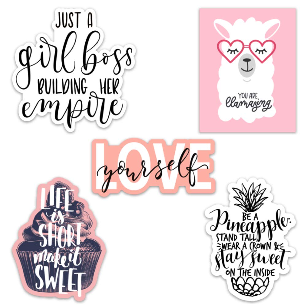 Amazoncom Cute Girl Inspirationalmotivational Quote Aesthetic