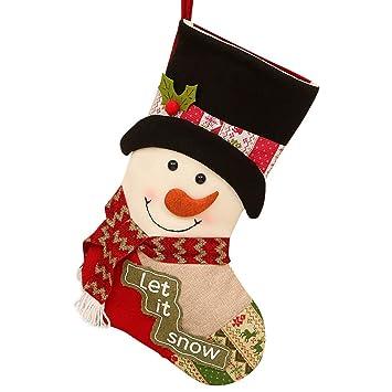 Sencillo Vida Calcetines de Navidad, Media de Navidad, Bolsa ...