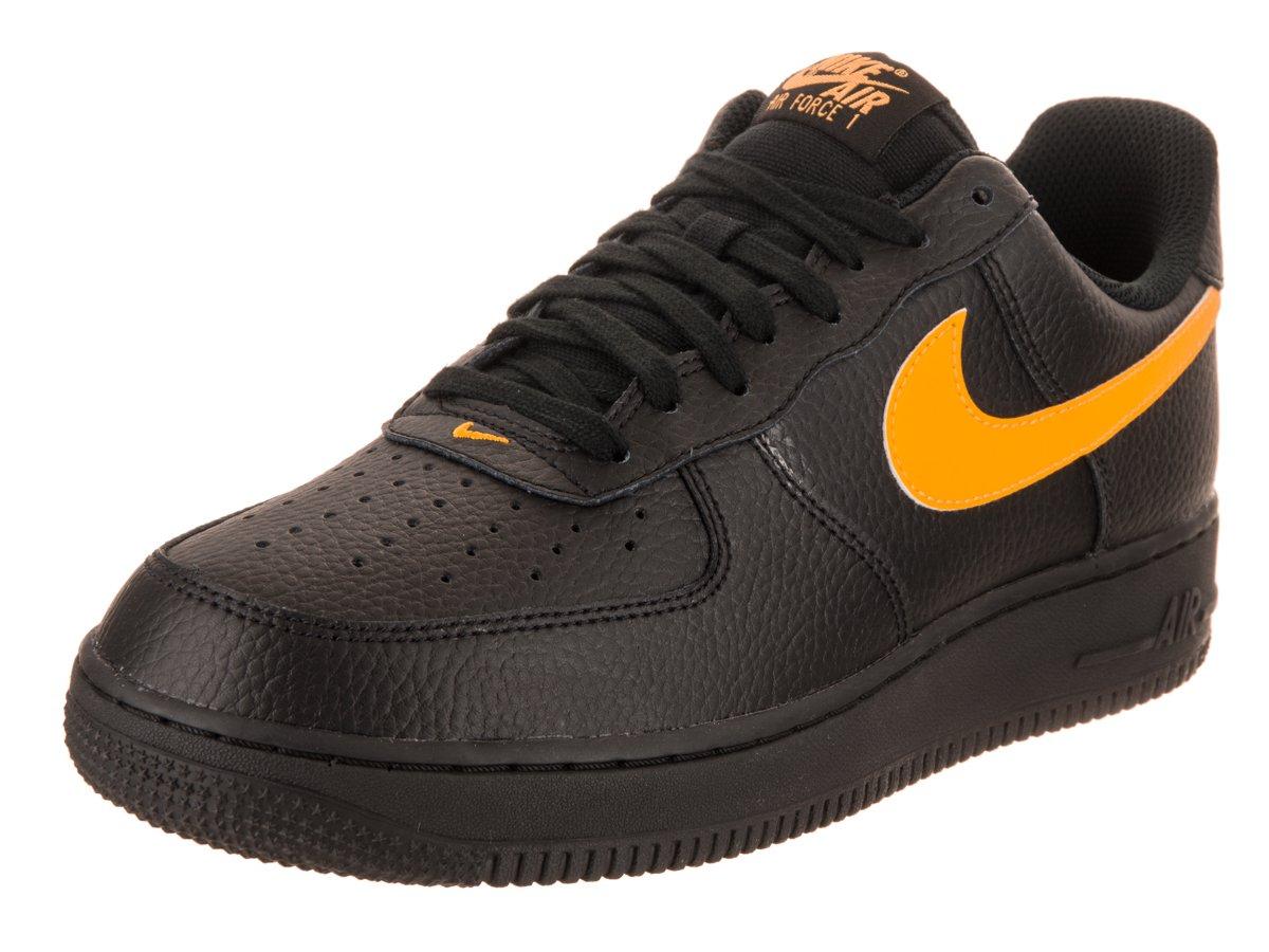 fa3d1d353 Galleon - Nike Air Force 1 '07 Black/Amarillo (12 D(M) US)