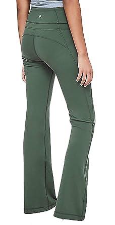 7133752db37 Lululemon Groove Pant Flare - DPIV (Deep Ivy) (4) at Amazon Women's ...