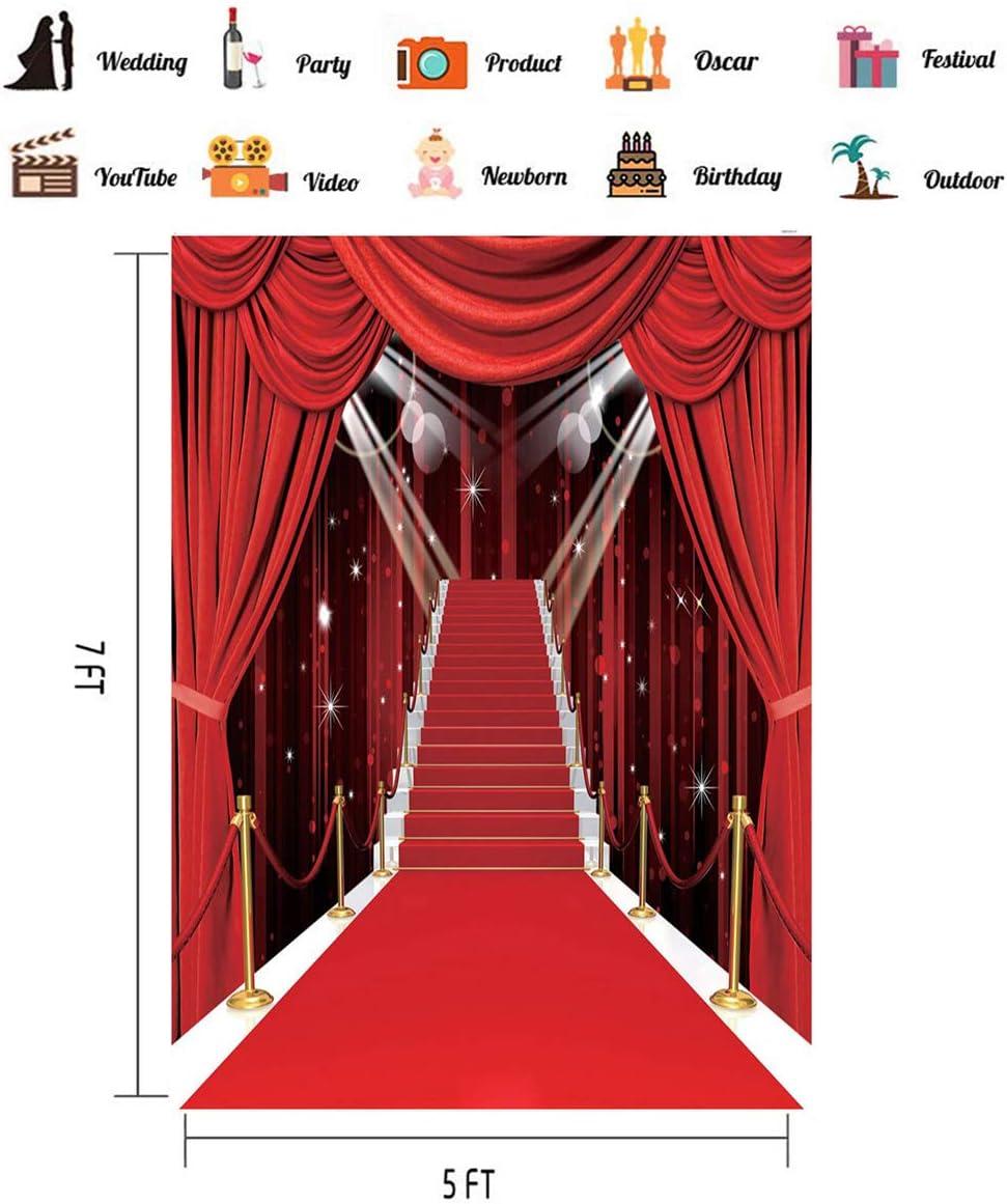 Hollywood Themen Party Dekorationen Fotohintergrund Kamera