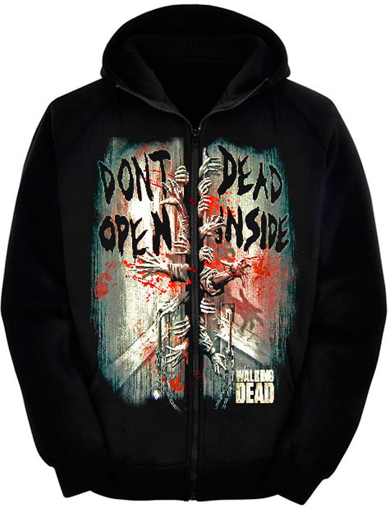 Sudadera The Walking Dead - Dont Open Dead Inside Mx Games