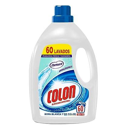 Colon Detergente Nenuco para la ropa Hipoalergénico en formato ...