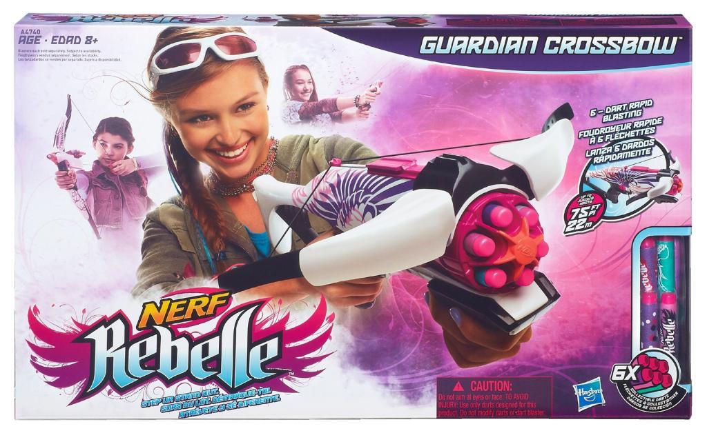 Nerf Boys Toys For Girls : Nerf rebelle guardian crossbow blaster blasters foam