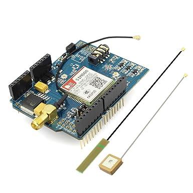 elecrow Arduino sim808 módulo GPRS GSM GPS Escudo 2 en 1 Escudo GSM GPRS GPS desarrollo