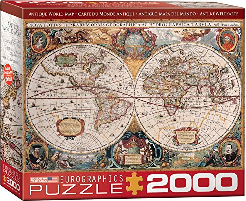 Old World Map Jigsaw Puzzle Jigsaw Puzzles For Adults