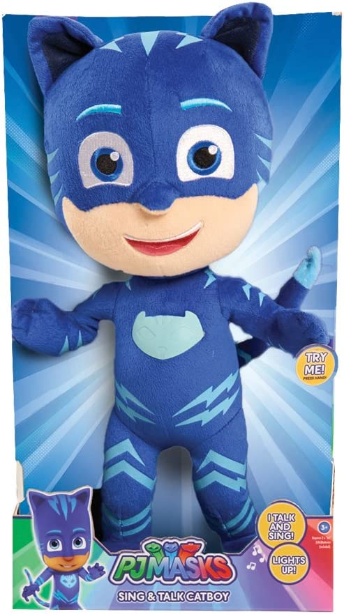 "PJ Masks 14"" Feature Plush Cat Boy"