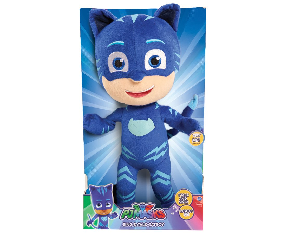 Just Play Pj Masks Sing & Talk Plush Gekko, Green JPL24618