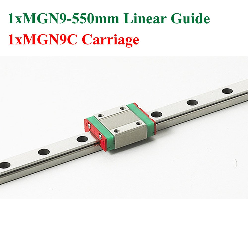 Aibecy MGN9C 300mm Linear Rail Guideway Rail with Block for 3D Printer CNC Machine