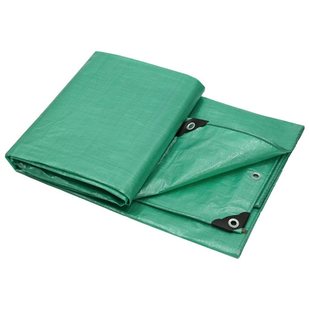Zeltplanen Planen-Regenschutztuch Wasserdichter Poncho-Markise Dickes Segeltuch Linoleum Shade Sonnenschutztuch - Verschiedene Größen (größe   4  5M)