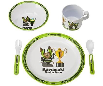 Kawasaki Cuddle Baby Vajilla Cubiertos Para Niños. NUEVO ...