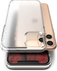 Ringke Fusion No-Smudge Matte Case Made for iPhone 11 Pro Max, Anti Fingerprint Frost PC Clear Case for iPhone 11 Pro Max (2019) - Translucent
