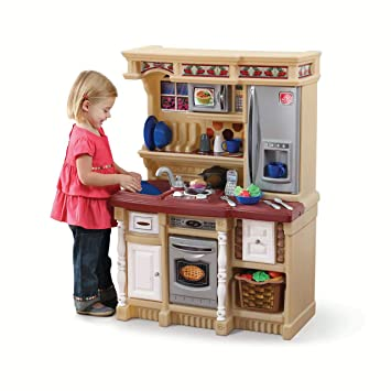 Amazon.com : Kids Play Kitchen Set Toddler Cooking Pretend ...