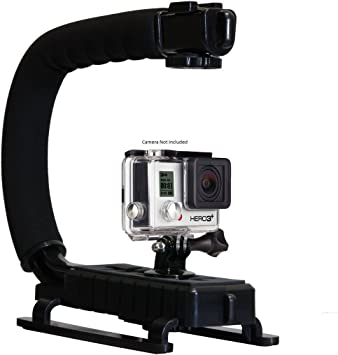 Pro Video Stabilizing Handle Grip for Sony Cyber-Shot DSC-TX66 Vertical Shoe Mount Stabilizer Handle