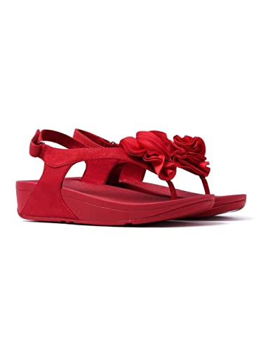 fd4916c00 Fitflop Women s Florrie Toe-Post Sandals - Classic Red