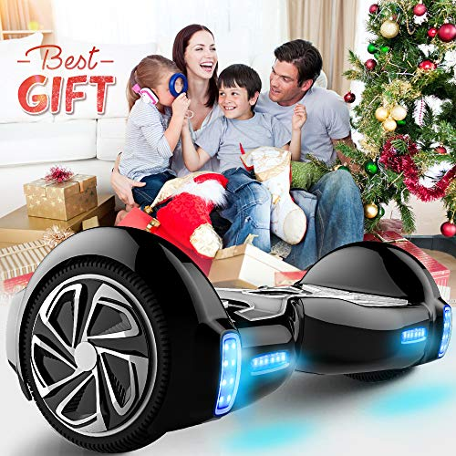 """61T9rStIapL - TOMOLOO Hoverboard with App and LED Lights Two-wheel Bluetooth Self Balancing Scooter with UL2272 Certified, 6.5"""" Wheel Electric Scooter for Kids and Adult"""