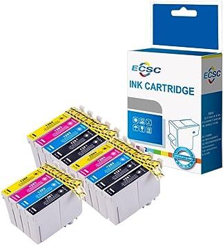 ECSC Compatible Tinta Cartucho Reemplazo Para Epson Stylus Office ...